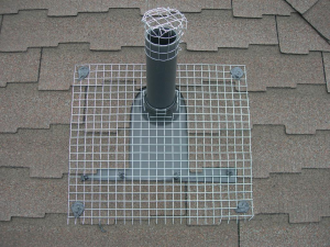 Animal-proof mat and pipe