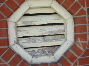 Decorative structure vents